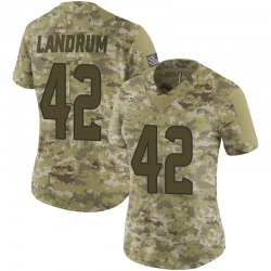 Nike Chris Landrum Houston Texans Women's Limited Camo 2018 Salute to Service Jersey