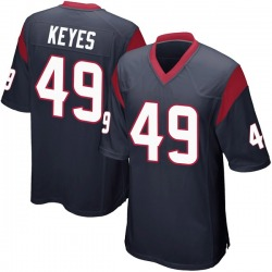 Nike Josh Keyes Houston Texans Youth Game Navy Blue Team Color Jersey